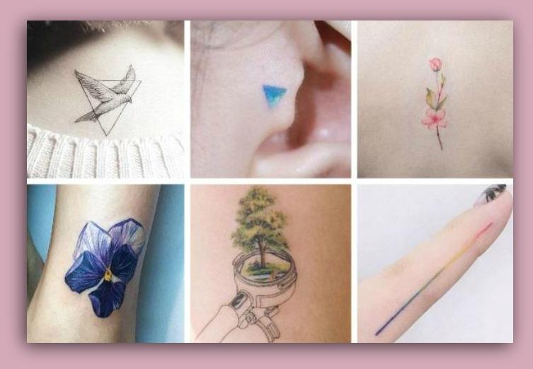 Piccoli Tatuaggi Femminili Eleganti Foto dei più belli