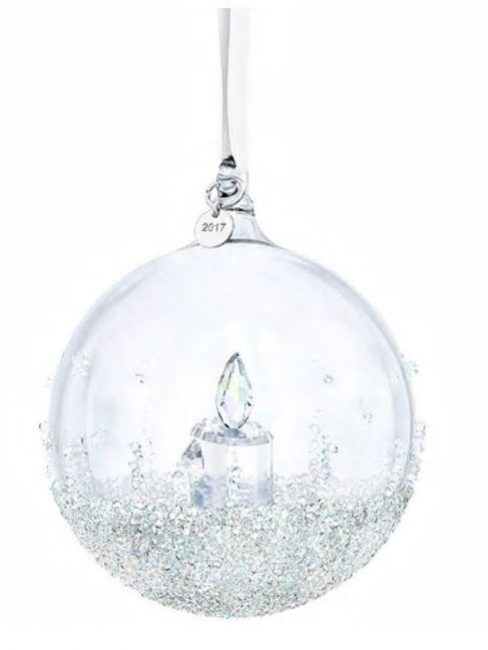 Campanella Di Natale 2017 Con Targhetta In Metallo, Decorata A Mano Con  Lu0027esclusiva Tecnica Swarovski Crystal Rocks. Le Sue Dimensioni Sono  8,7×7,9×7,9 Cm E ...