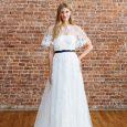 Tendenza Vestito da sposa con mantella 2018