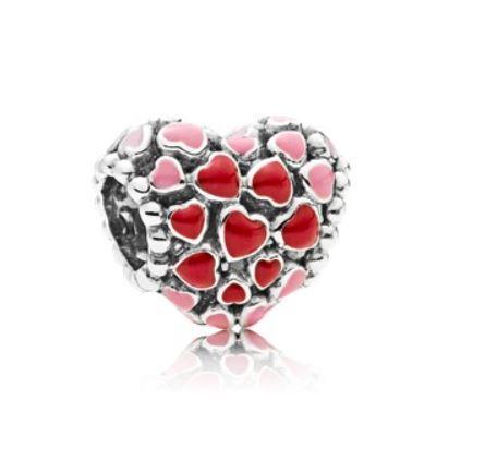 cuore pandora san valentino