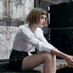 Caschetto con frangia corta donna 2018