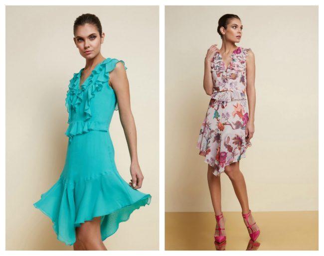 design unico speciale per scarpa nuovi stili Abiti eleganti Motivi collezione Smart Couture primavera estate 2018