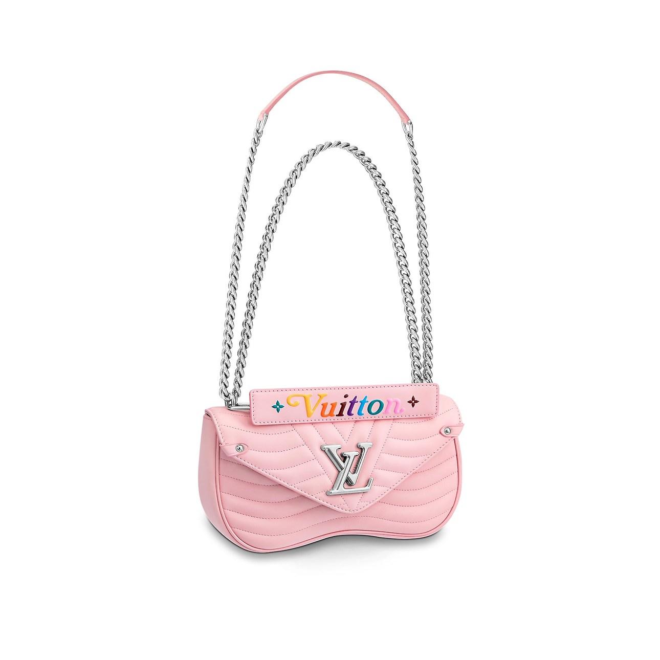 Nuova Borsa a tracolla Louis Vuitton New Wave rosa - Lei ...
