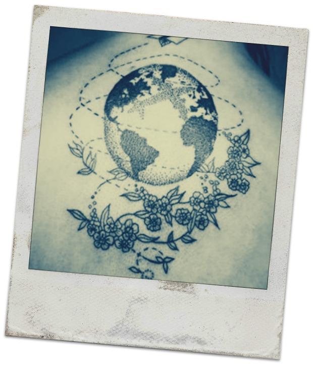 20 Foto Tatuaggi per chi ama viaggiare