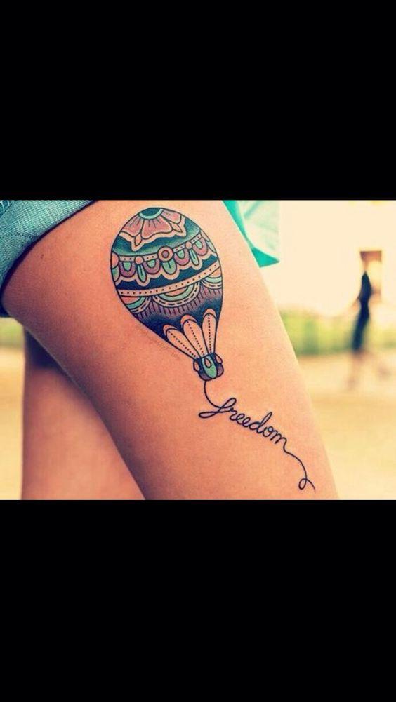 Idea tatuaggio per chi ama girovagare
