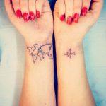 Tatuaggi per chi cerca la liberta nei viaggi