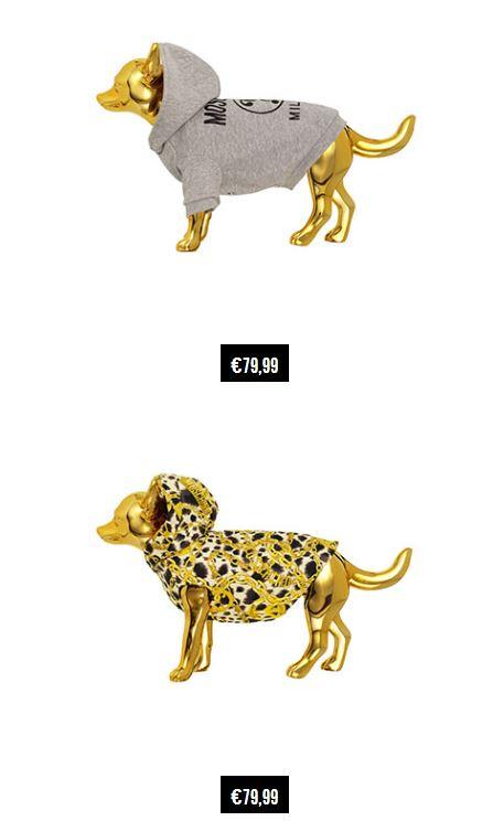 Cappottino per cani Moschino per HM