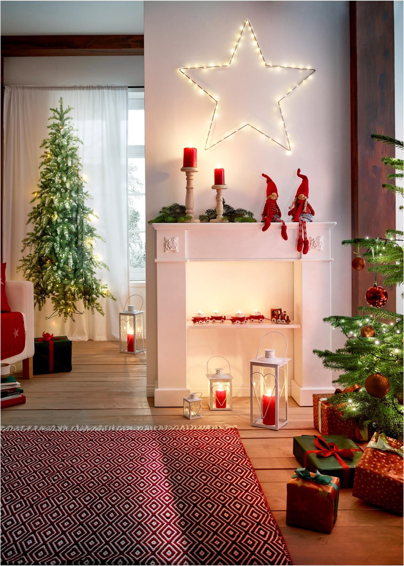 Decorazioni e addobbi natalizi 2018 particolari lei trendy for Decorazioni casa online