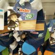 Calze della Befana Kinder in jeans con TIC TAC