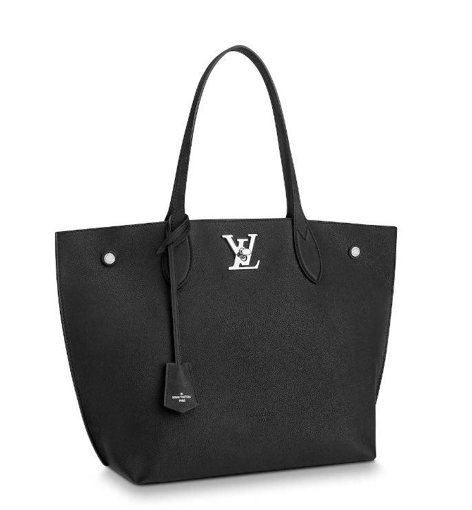 Nuova borsa Louis Vuitton Lock Me Go nera - Lei Trendy