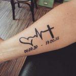 Tatuaggio in memoria persona cara morta