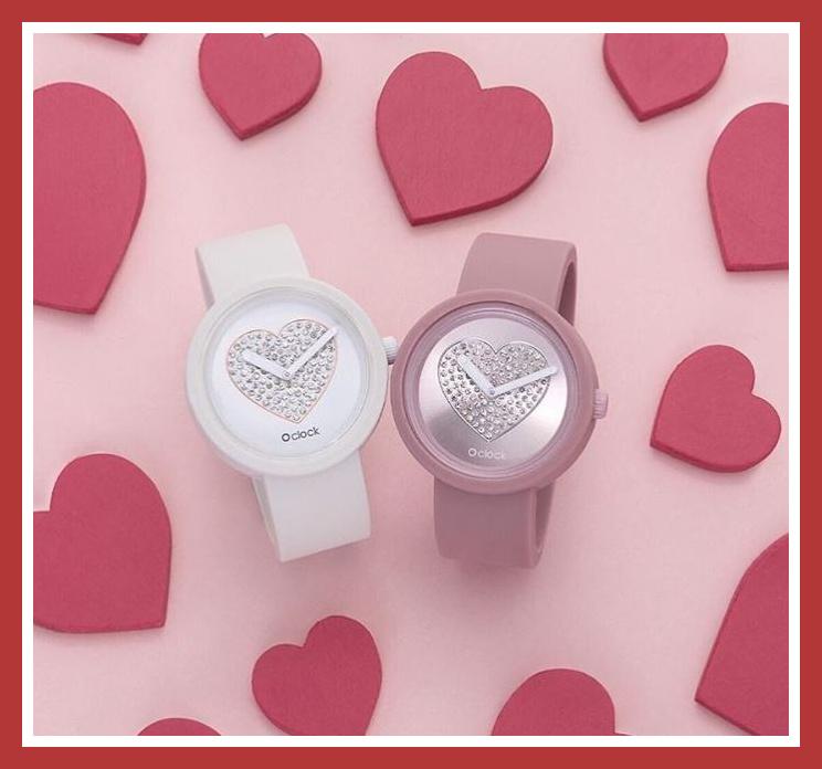 Orologi O clock Love per San Valentino 2019