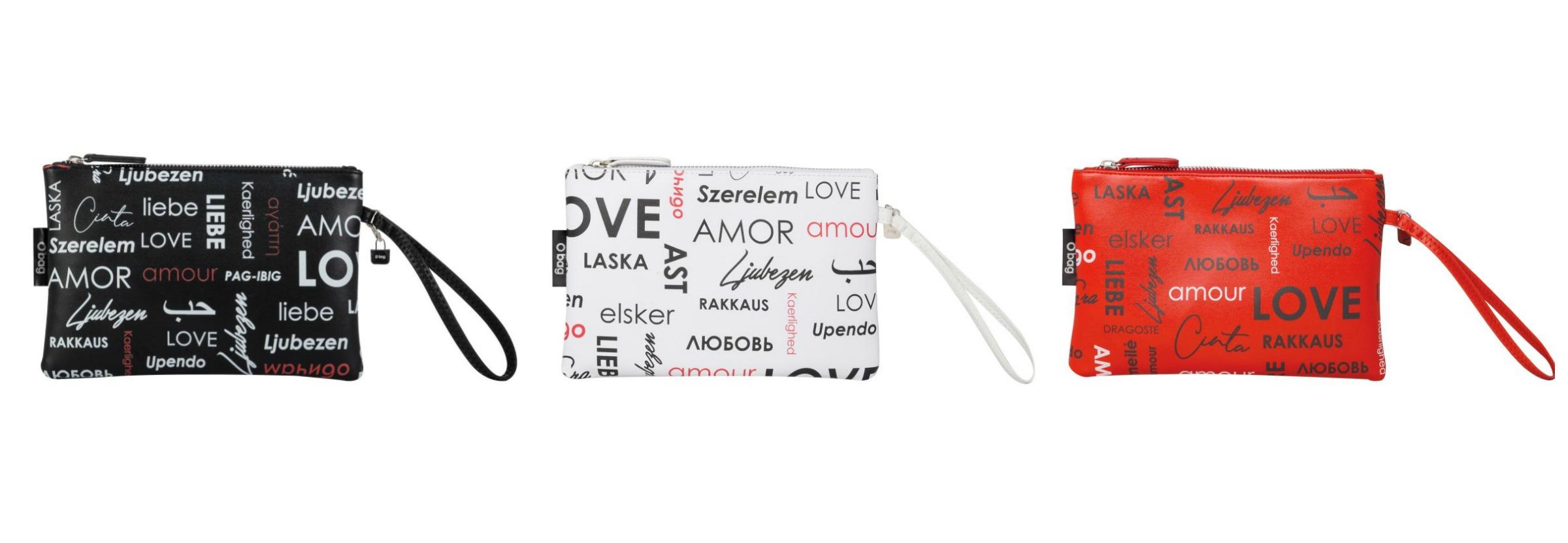 Pochette O Bag Love San Valentino 2019 prezzo 24 euro