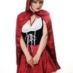 Sexy costume Carnevale da cappuccetto rosso