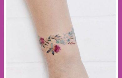 Immagini Tatuaggi bracciali polso donna