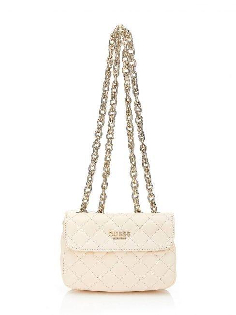 Mini bag Guess in vera pelle trapuntata estate 2019 prezzo 160 euro