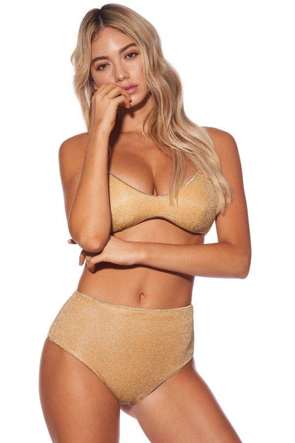 Bikini Lovers Jasmine con slip a vita alta