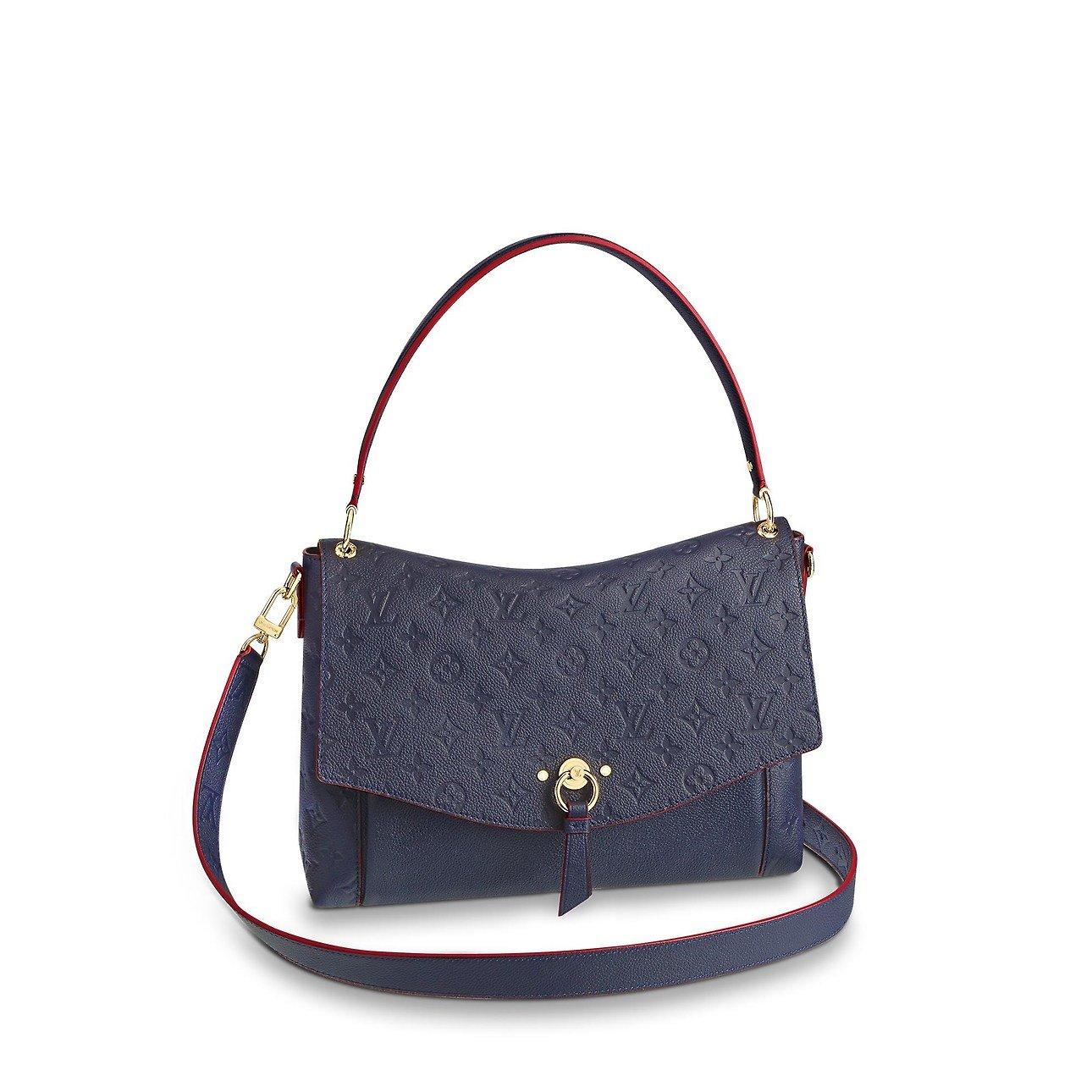 Borsa a mano e a spalla Louis Vuitton Blanche collezione 2019 prezzo 1920 euro