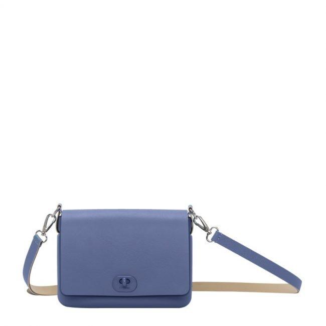 Borsetta O Pocket color cobalto collezione primavera estate 2019