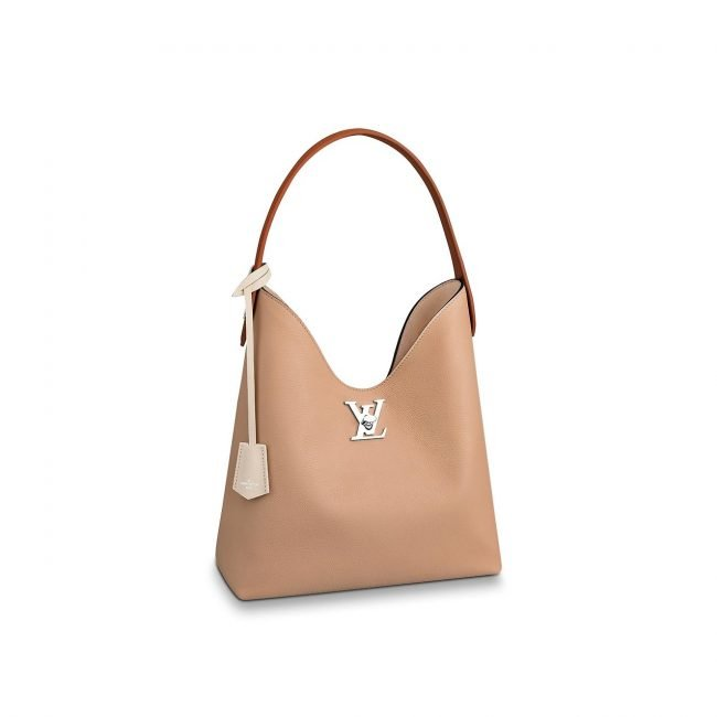 Nuova borsa a spalla Hobo Lockme Louis Vuitton primavera estate 2019