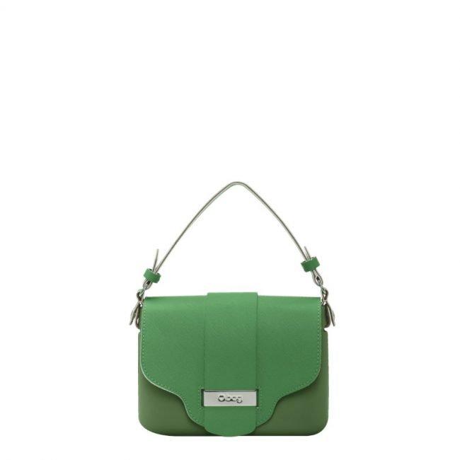 Nuova borsetta O Pocket colore verde inglese collezione primavera estate 2019 prezzo 67 euro