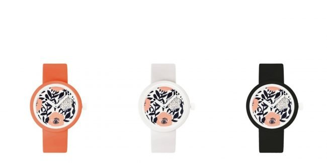 Nuovo orologio O Clock Crystal Flowers 2019