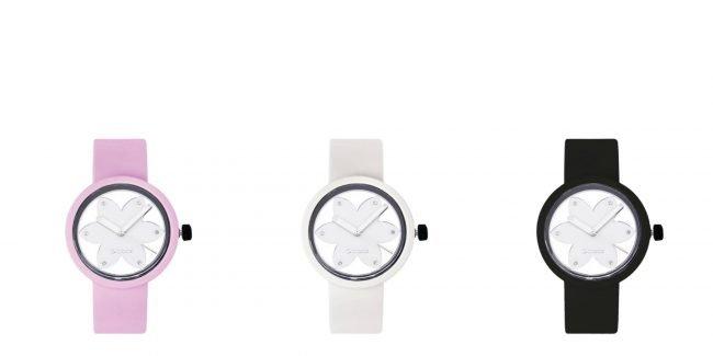 Nuovo orologio O Clock Metal Flower con meccanismo Silver 2019