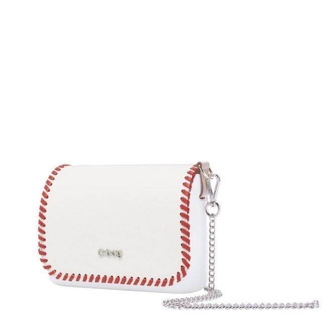 Pattina borsa O Bag Pocket collezione primavera estate 2019 con profilo rosso
