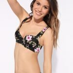 Costume a fiori Tezenis modello Juicy Flower con reggiseno a balconcino estate 2019