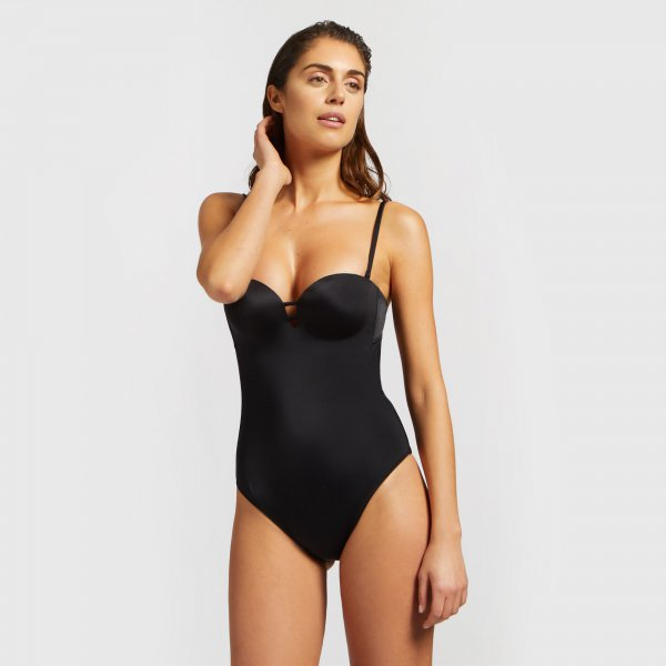 Costume intero nero push up Yamamay 2019