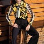 Camicia in tessuto leggero Nara Camicie catalogo primavera 2019