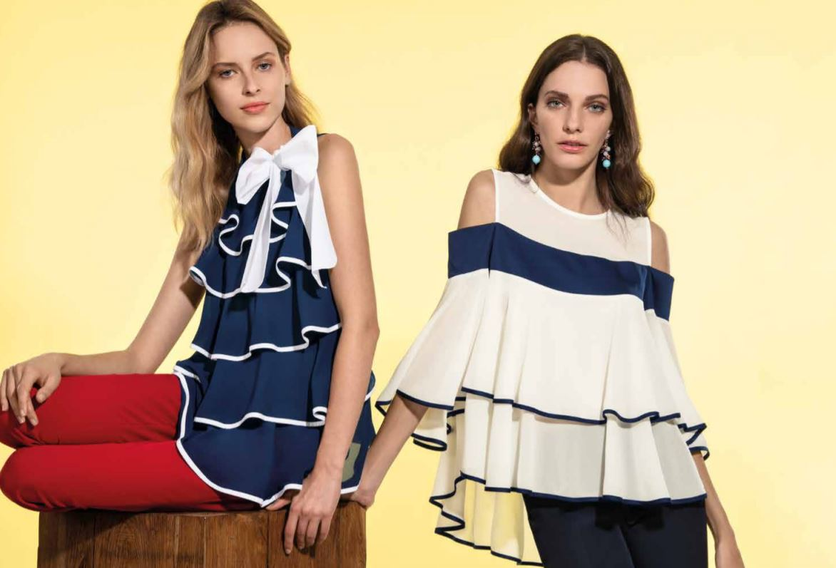 Catalogo Nara Camicie donna primavera estate 2019