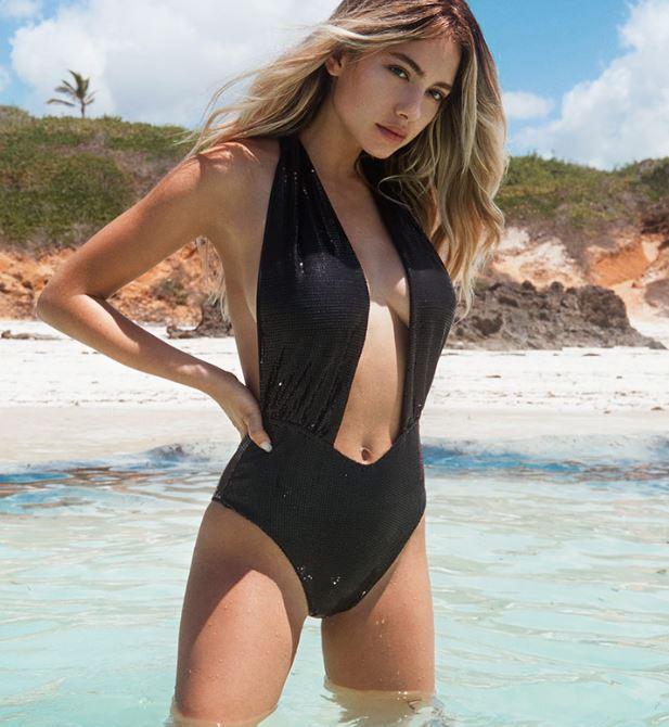 Costume intero nero Bikini Lovers estate 2019