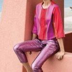 Giacchino Nara Camicie in tessuto lucido catalogo primavera estate 2019