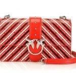 Nuova borsa Pinko Love bag Logomania prezzo 285 euro
