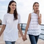 Top e Blusa traforate Nara Camicie estate 2019
