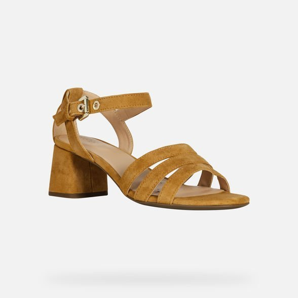 Geox sandali con tacco medio comodo estate 2019