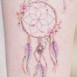 Tatuaggio Acchiappasogni donna