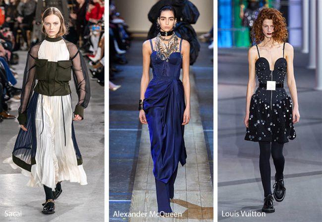 Corsetti moda inverno 2019 2020
