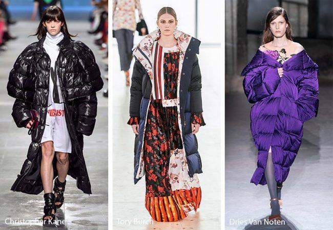 Piumini oversize moda inverno 2019 2020