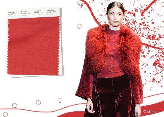 Rosso Cranberry Colore Moda Inverno 2019 2020