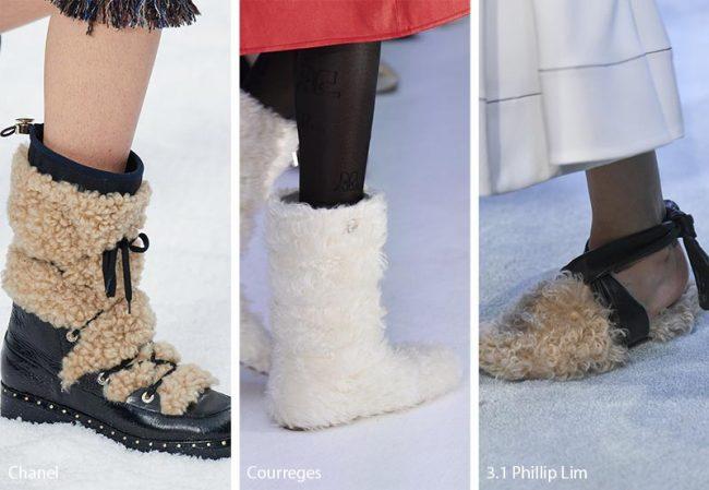 Scarpe e Stivali con pelliccia moda inverno 2019 2020