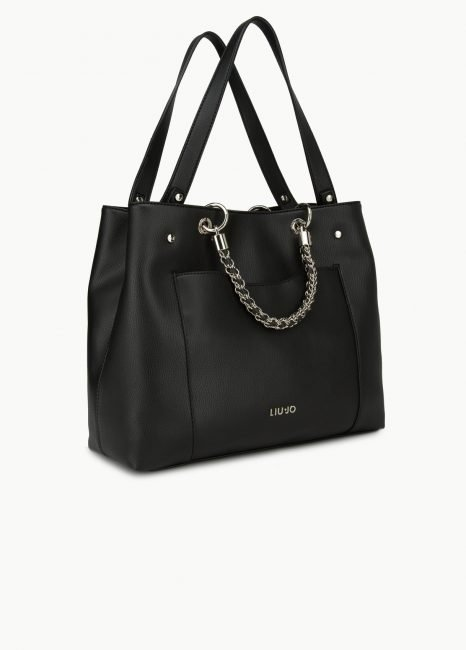 Shopping bag in similpelle autunno inverno 2019 2020 prezzo 179 euro