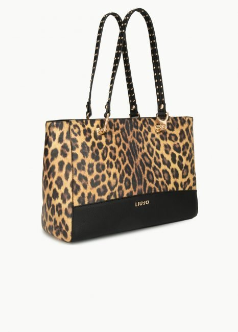 Shopping bag maculata Liu Jo prezzo 179 euro