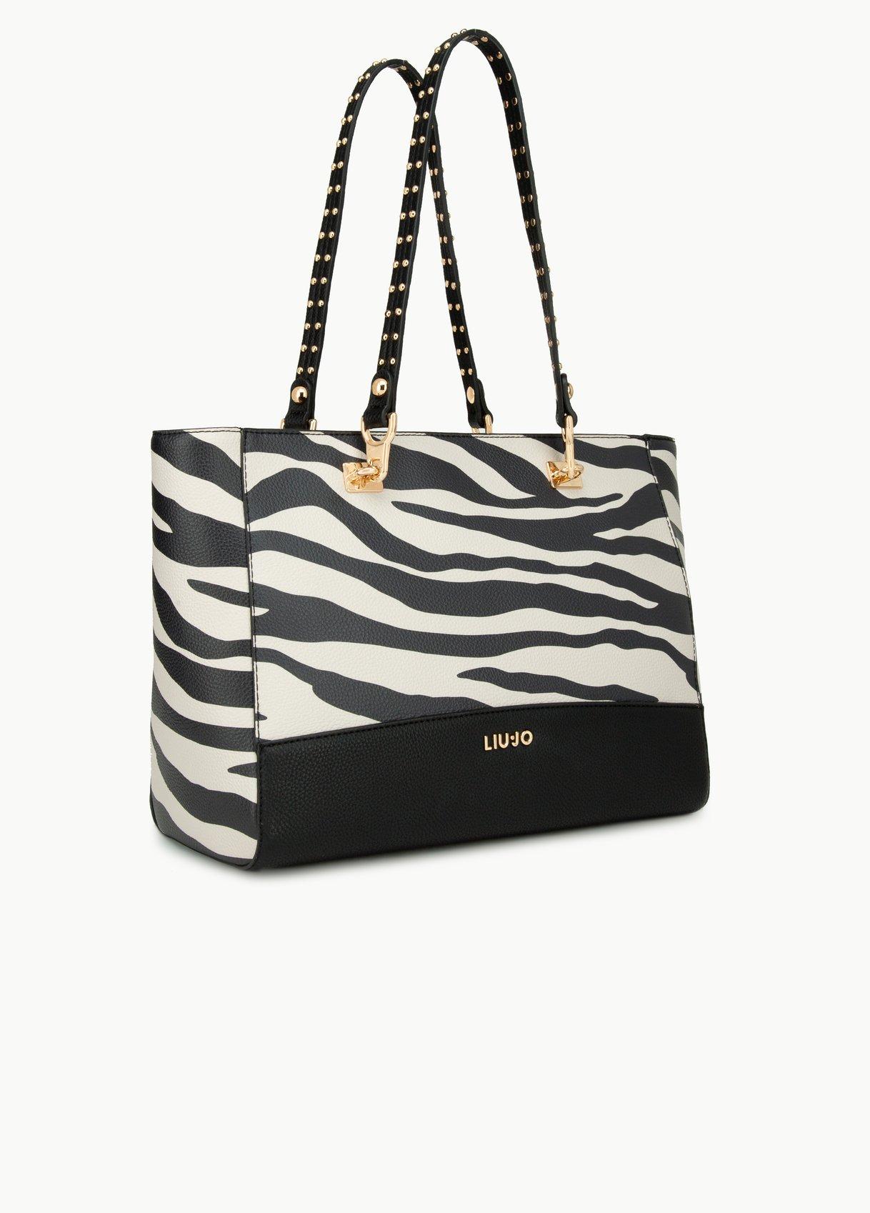 Shopping bag zebrato Liu Jo autunno inverno 2019 2020 prezzo 179 euro