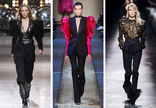 Spalline strutturate moda inverno 2019 2020