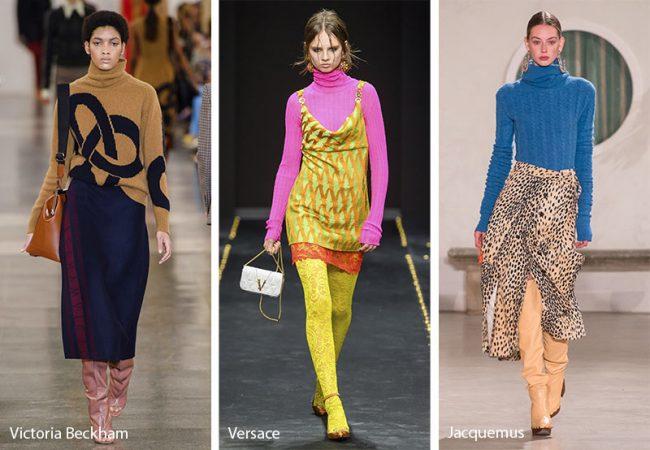 Tendenze moda abbigliamento inverno 2019 2020 dolcevita a collo alto