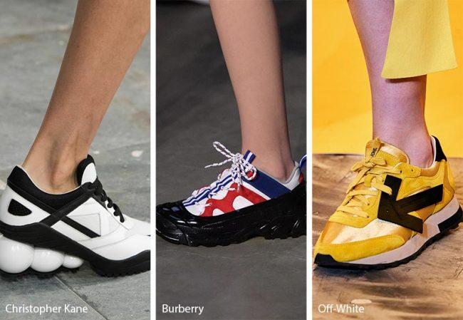 Tendenze moda scarpe autunno inverno 2019 2020 le sneakers