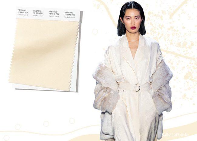 Vaniglia Colore Moda Inverno 2019 2020