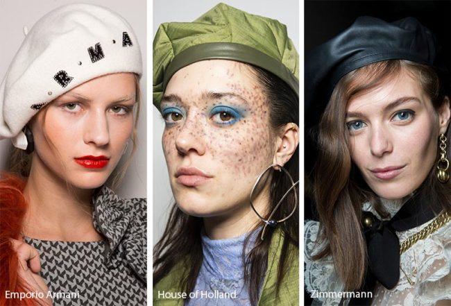 Basco alla Francese moda cappelli inverno 2019 2020